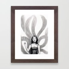 Tamamo no Mae Framed Art Print