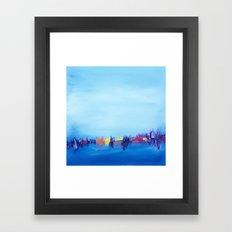 The Harbor Framed Art Print