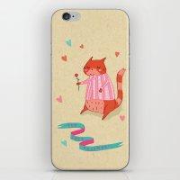 The Cat's Pyjamas iPhone & iPod Skin