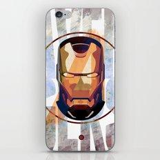 Avengers : IRON MAN print  iPhone & iPod Skin