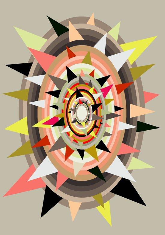 Sharp Bulls-eye  Art Print