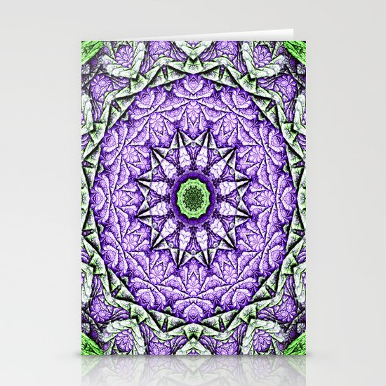 Abstract 87 Stationery Card