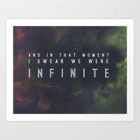 New Infinite Print Art Print