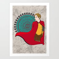 Rory Williams - The Roma… Art Print