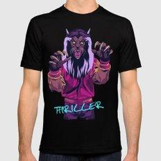 THRILLER - Werewolf Version Black Mens Fitted Tee SMALL