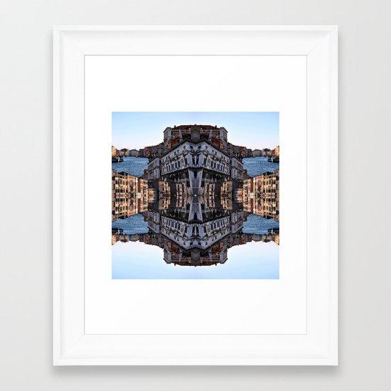 VENICE SEA Framed Art Print