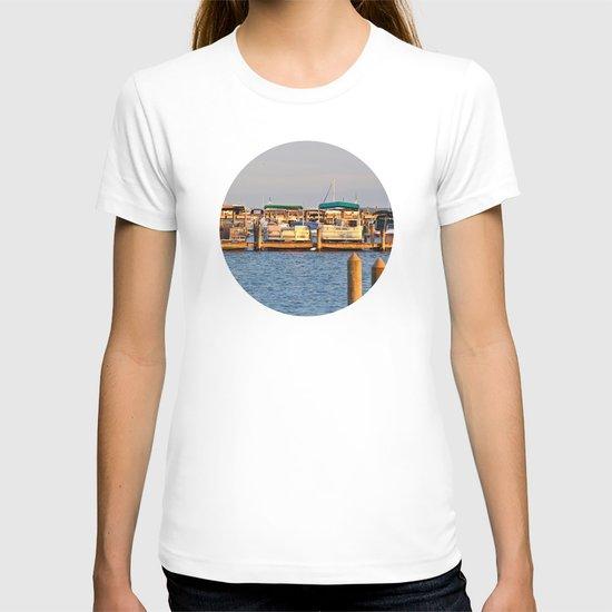 Docked Boats  T-shirt