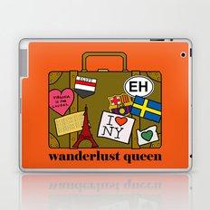 Wanderlust Queen Laptop & iPad Skin