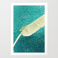 summer blues Art Print