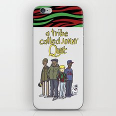 A Tribe Called Jonny Quest iPhone & iPod Skin