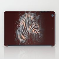 DARK ZEBRA iPad Case