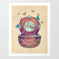 Inner Space Art Print