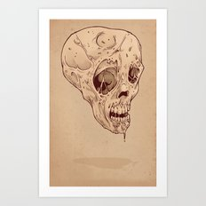 Rotten Art Print