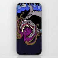 sharktopus iPhone & iPod Skin