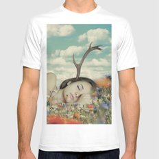 Dream Of Joy Mens Fitted Tee White SMALL