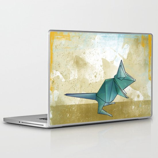 paper mouse Laptop & iPad Skin