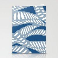 Al Peas: Blue Tonal Stationery Cards