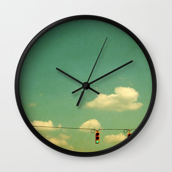 GO Wall Clock