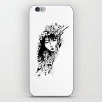 Flower Girl iPhone & iPod Skin