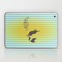 Black Mermaid Laptop & iPad Skin