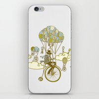Bicycle Race iPhone & iPod Skin