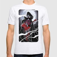 Night Of The Scream Quee… Mens Fitted Tee Ash Grey SMALL