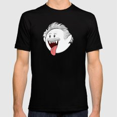 Boo Einstein SMALL Mens Fitted Tee Black