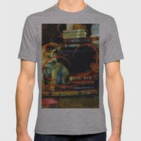 Paper Dog Mens Fitted Tee Athletic Grey SMALL