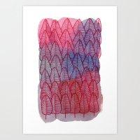Leaves / Nr. 6 Art Print