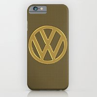 VW Gold Grill iPhone 6 Slim Case