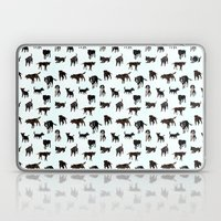 Dog Pattern Laptop & iPad Skin