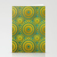 Golden Mandala 2 Stationery Cards