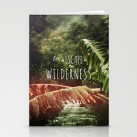 Let's Escape To Wilderne… Stationery Cards