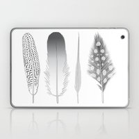 Feathers Trio Laptop & iPad Skin