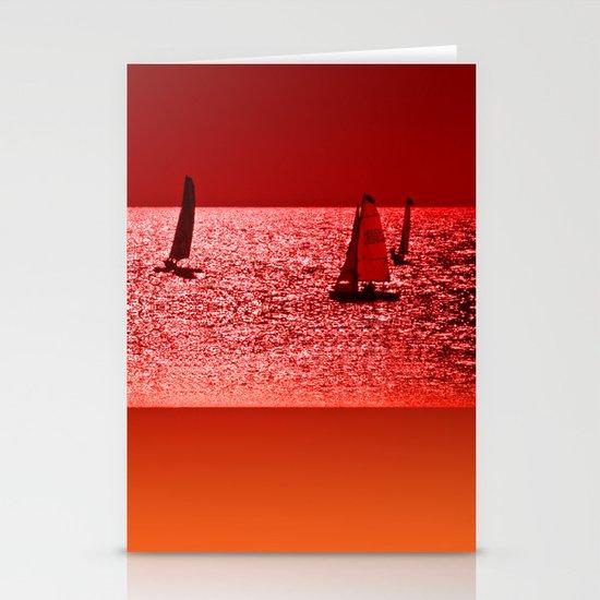 Autumn Ocean 2 Stationery Card