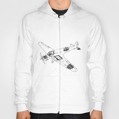 Airplane diagram Hoody