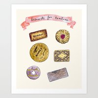 Biscuits For Teatime Art Print