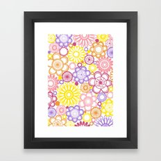 BOLD & BEAUTIFUL summertime Framed Art Print