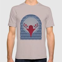 Geometric Eagle Mens Fitted Tee Cinder SMALL
