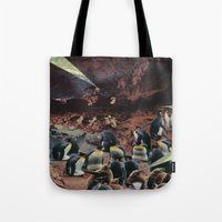 PENGUINS WITH POWERS Tote Bag