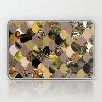 Autumn Scalloped Pattern Laptop & iPad Skin