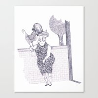 Tremebunda Canvas Print