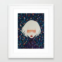 M#1 Framed Art Print