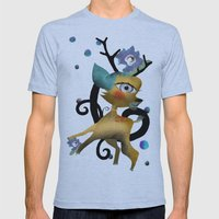 Delicious Light And Tran… Mens Fitted Tee Athletic Blue SMALL