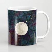 The Flower Of Life Moon … Mug