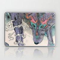 Journeying Spirit (wolf) Laptop & iPad Skin