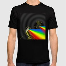 The Left Hand of Darkness (Variations) Mens Fitted Tee Black SMALL