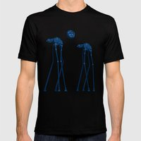 Dali's Mechanical Elepha… Mens Fitted Tee Black SMALL