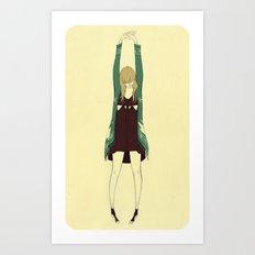 Vanitas Stretch Art Print