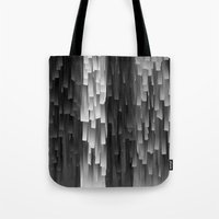 Fringe (Black And White) Tote Bag